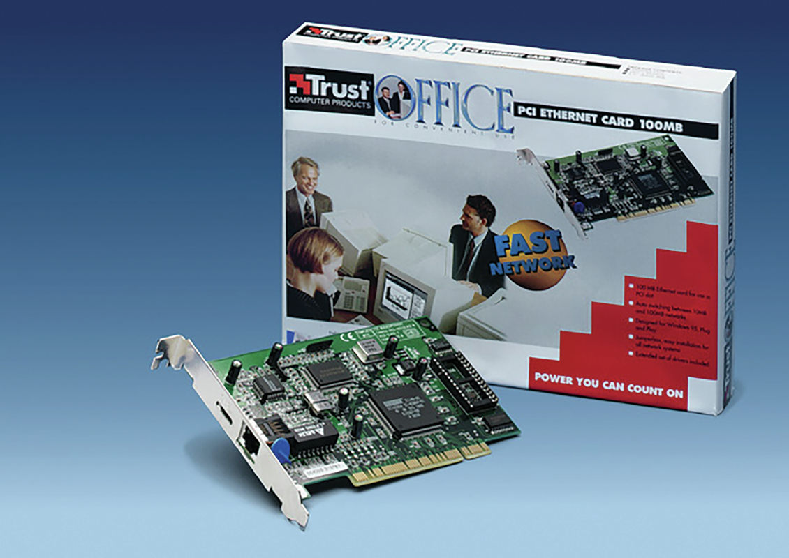 100MB PCI Ethernet Card-VisualPackage