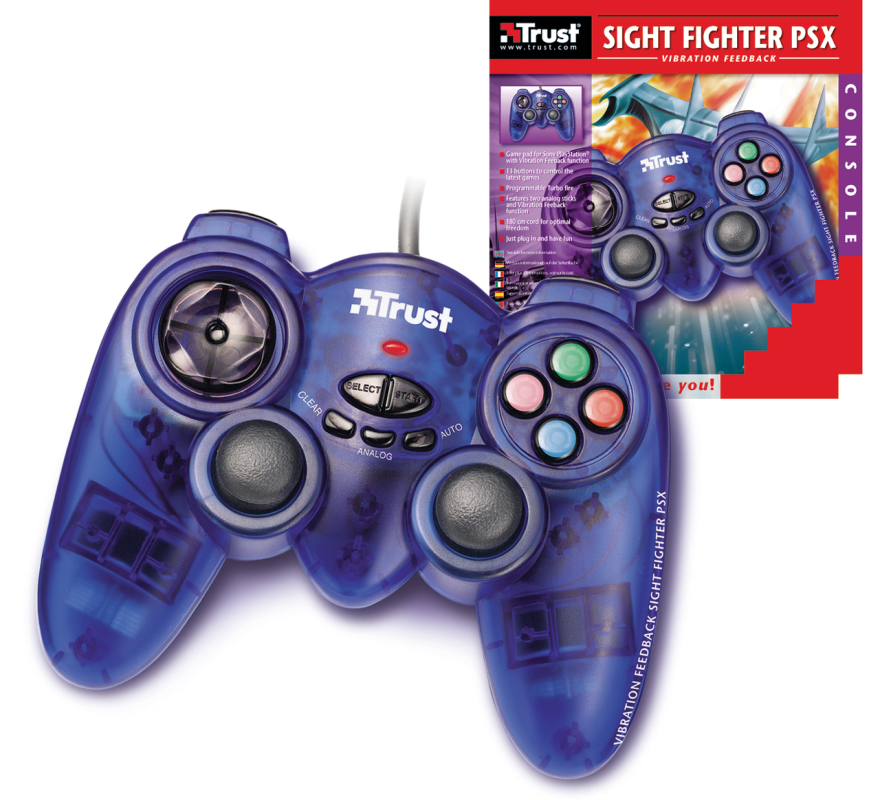 Vibration Feedback Sight Fighter PSX-VisualPackage