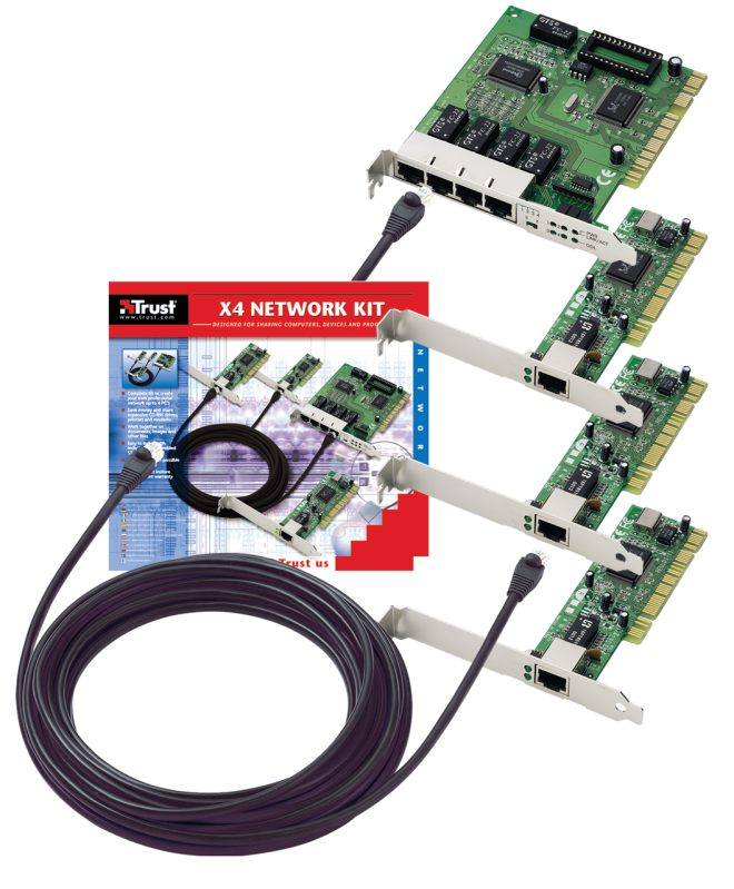 X4 Network Kit-VisualPackage