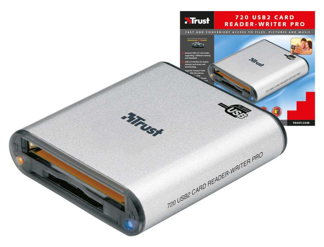 Card Reader-Writer Pro USB2 720-VisualPackage