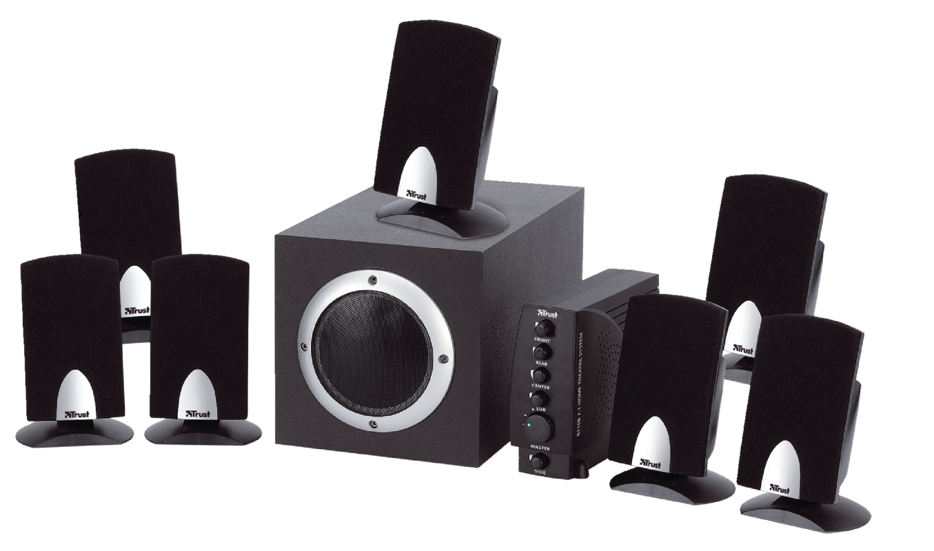 7.1 Home Theatre System 8110B-Visual