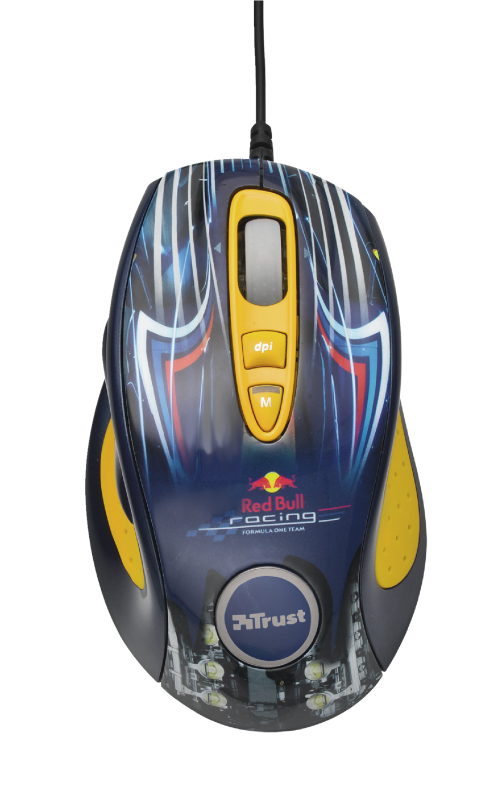 Red Bull Racing Xtreme Mouse-Top