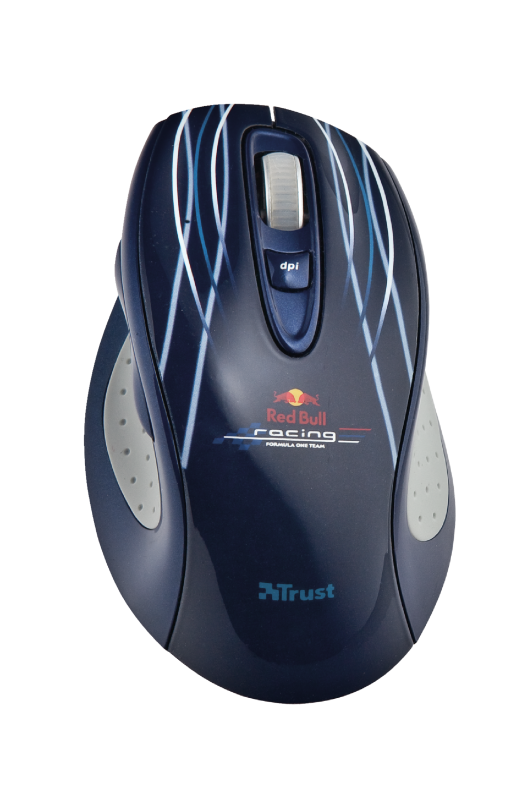 Red Bull Racing Wireless Full-size Mouse-Top