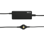 65W Netbook Charger - black-Top