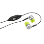 Indy In-ear Headset - lime-Visual
