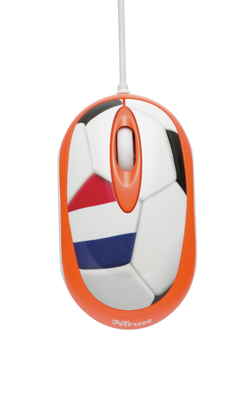 Football Mouse with Mouse pad - Nederland-Top