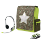 """Combat 12"""" Netbook Schoolbag with mouse and headset-Visual"""