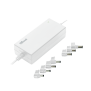 70W Notebook Power Adapter - White-Visual
