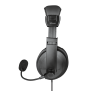Quasar USB Headset for PC and laptop-Side