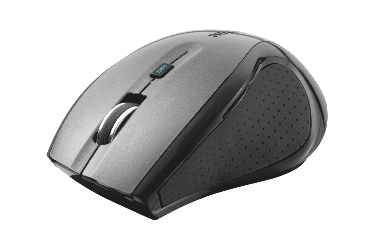 MaxTrack Wireless Compact Mouse -Visual