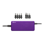 90W Laptop Charger - purple-Top