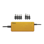 90W Laptop Charger - yellow-Top