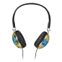 Afternoon Glow Headset - yellow/blue-Front