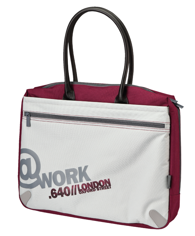 """Oxford 16"""" Notebook Bag with mouse-Visual"""