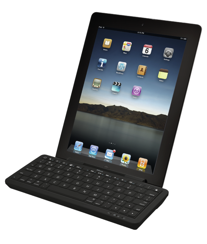 Wireless Bluetooth Keyboard with stand for iPad-Visual