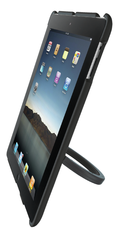 Hardcover Skin & Stand for iPad 2-Visual