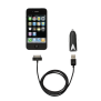 iPhone & iPod Car Charger with cable-Top