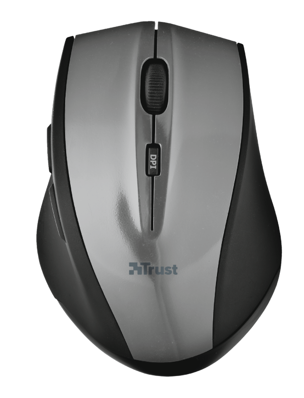 EasyClick Wireless Mouse - grey-Top