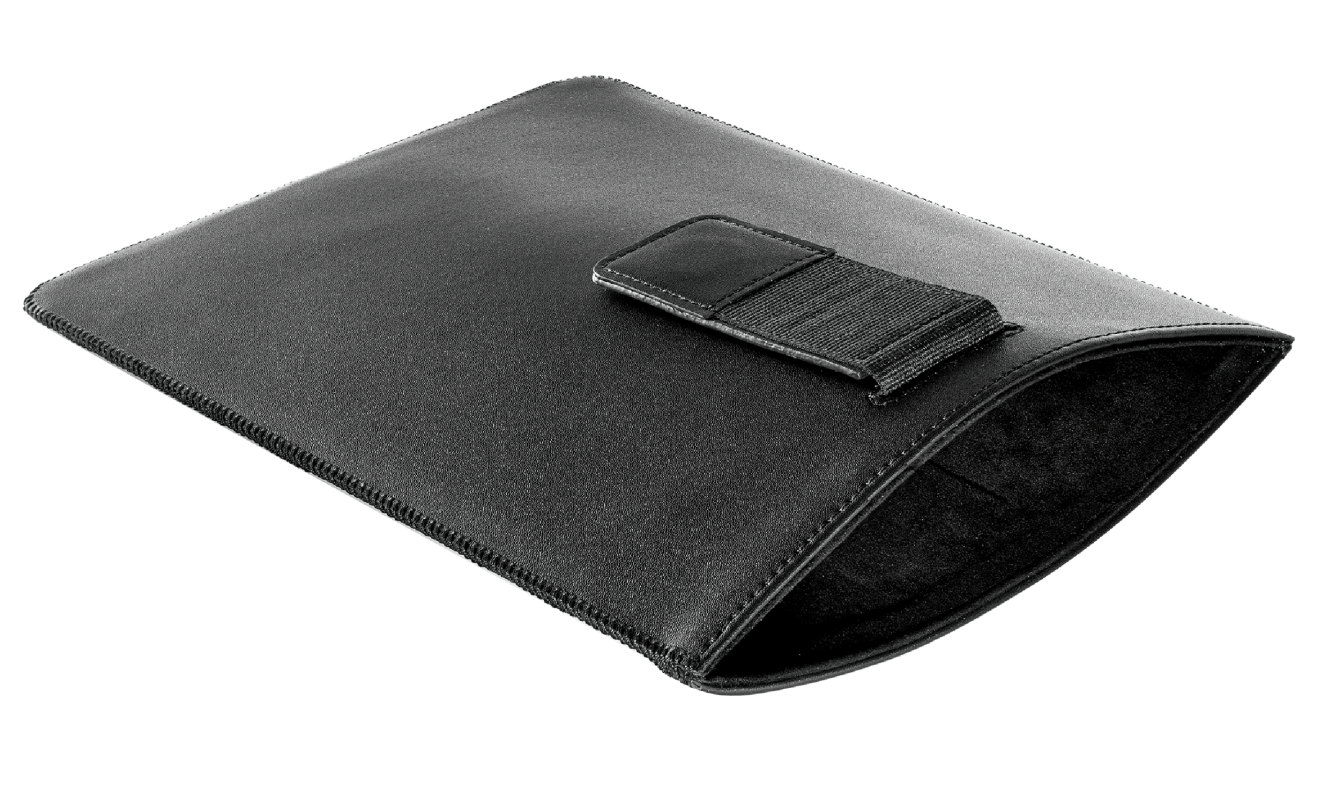 """Luxury Protective Sleeve for 10"""" tablets - black-Visual"""