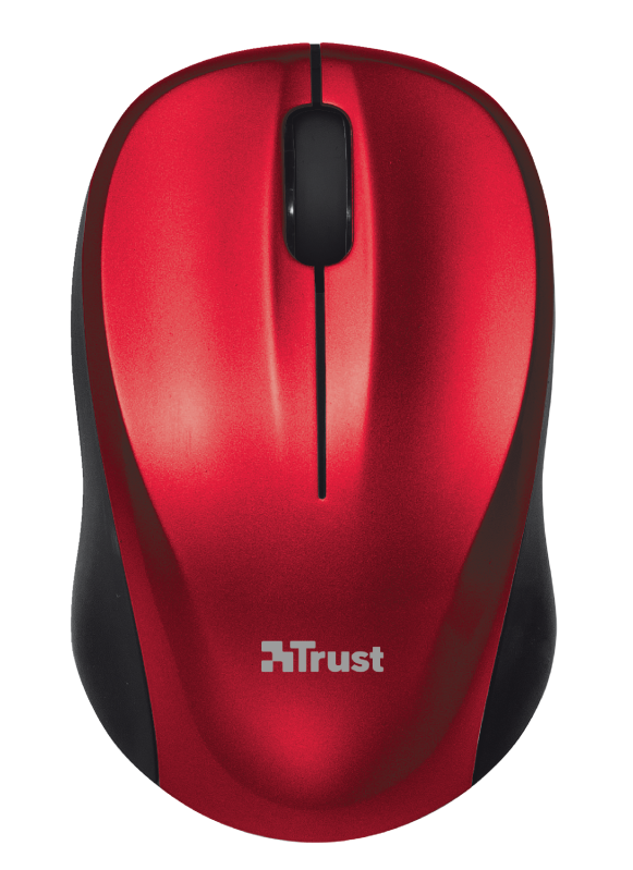 Vivy Wireless Mini Mouse - red-Top