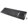 Tacto Wireless Entertainment Keyboard with touchpad-Visual