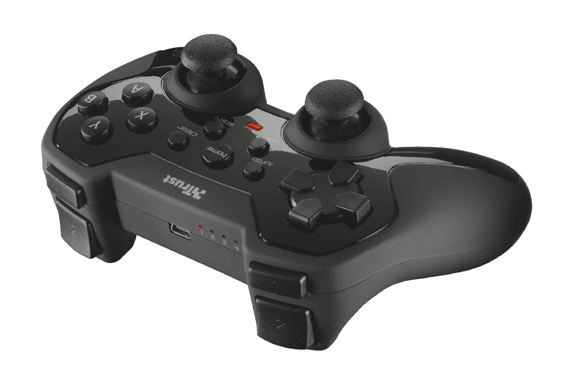 GXT 39 Wireless Gamepad for PC & PS3-Visual