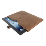 """Leather Sleeve for 10"""" tablets-Visual"""