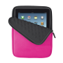 Anti-shock Bubble Sleeve for 10'' tablets - pink-Front