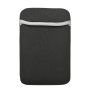 """Soft Sleeve for 7"""" tablets - black-Top"""