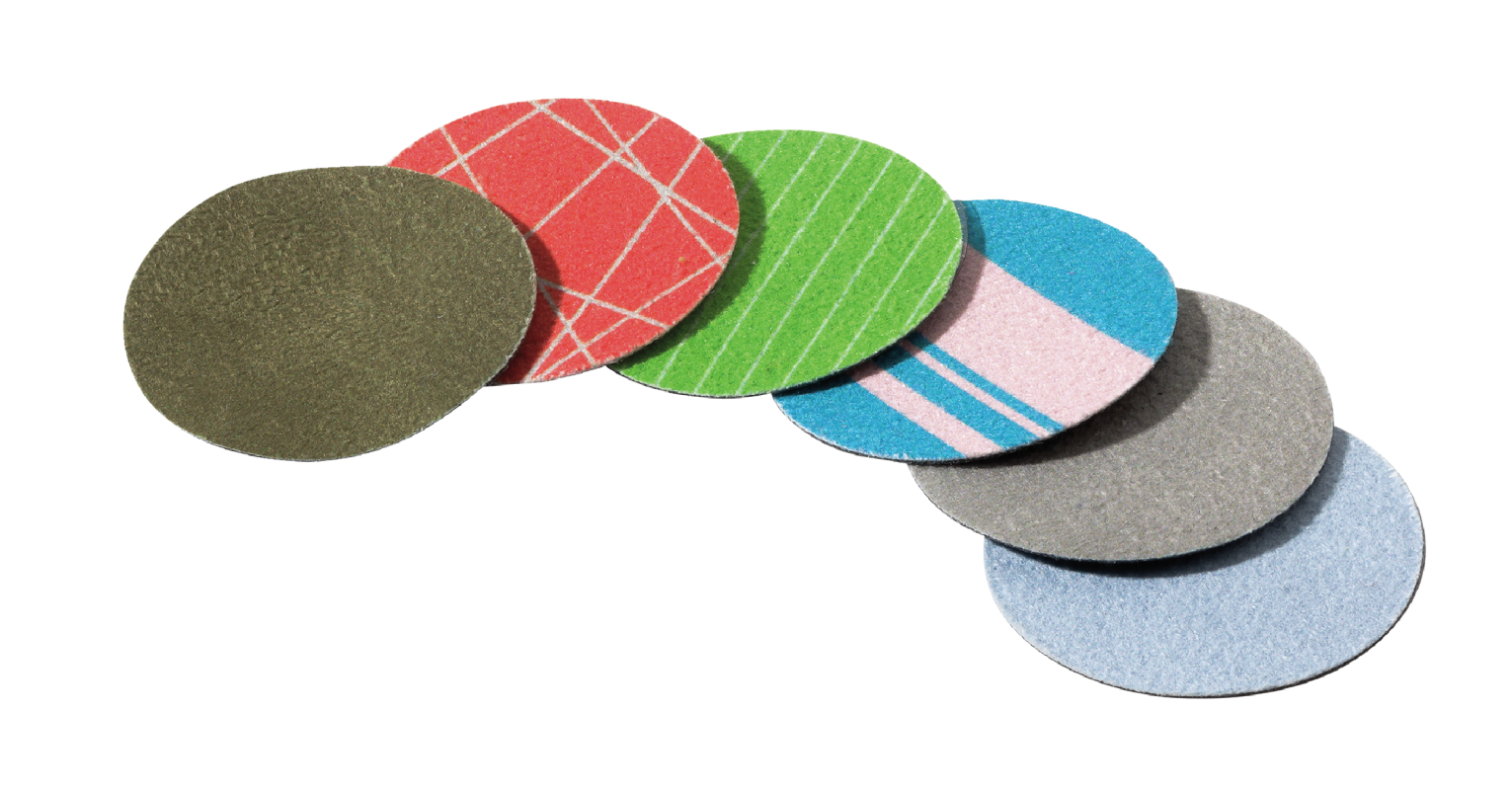 Stick-on Cleaning Pads-Visual