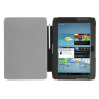 eLiga Folio Stand with stylus for Galaxy Tab 2 10.1 - black-Front