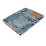 Jeans Folio Stand for iPad-Visual