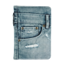 Jeans Folio Stand for iPad mini-Front