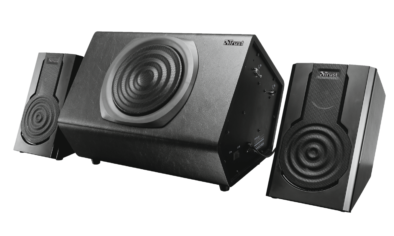Tytan Stage 2.1 Speaker System with Bluetooth-Visual