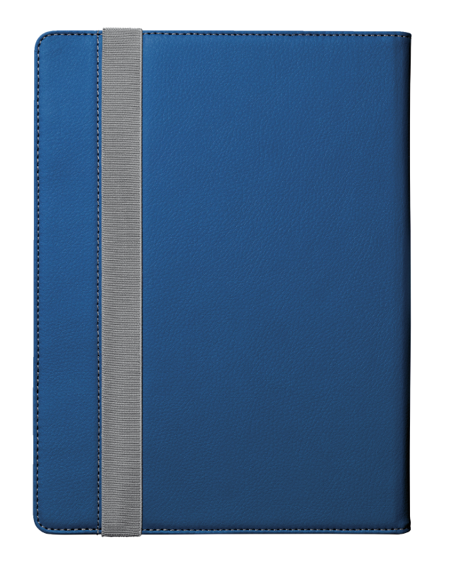 """Verso Universal Folio Stand for 10"""" tablets - blue-Back"""