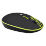 Pebble Wireless mouse - lime text-Visual