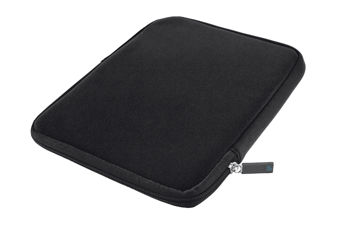 Anti-shock Bubble Sleeve for 10'' tablets - black-Visual