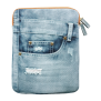 """Jeans Sleeve for 10"""" tablets-Front"""