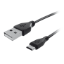 Micro-USB Charge & Sync Cable 1m - black-Visual