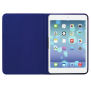 Aeroo Ultrathin Folio Stand for iPad Air - pink/blue-Front