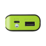 PowerBank 4400 Portable Charger - black-Front