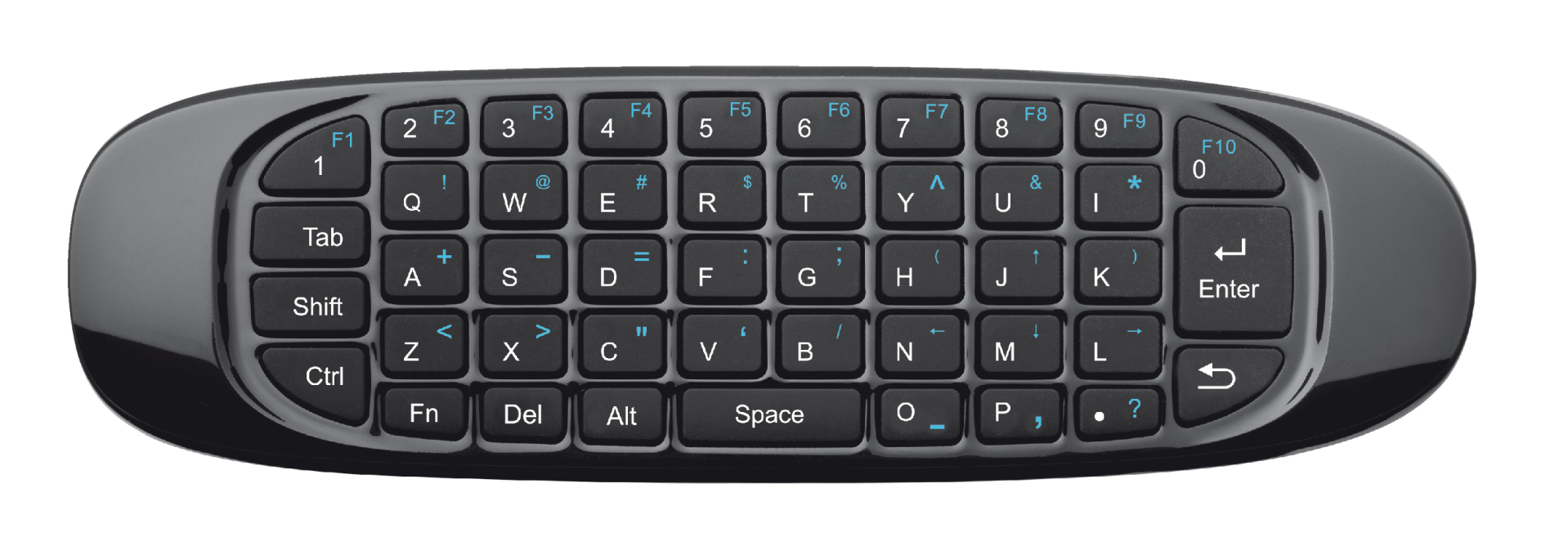 Gesto Smart TV Wireless Keyboard with air mouse pointer-Top