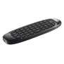 Gesto Smart TV Wireless Keyboard with air mouse pointer-Visual