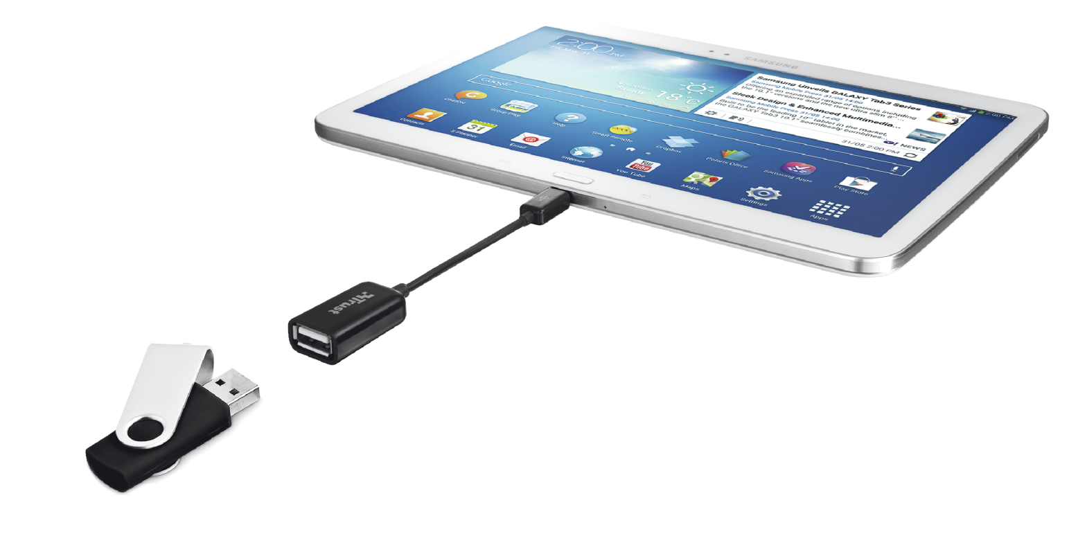 USB Connect Cable for Samsung Galaxy-Visual