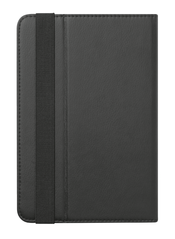 """Primo Folio Case with Stand for 7-8"""" tablets - black-Back"""