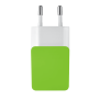 5W Wall Charger - lime green-Top