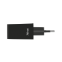 2x5W/1A Dual Wall Charger for phones-Side