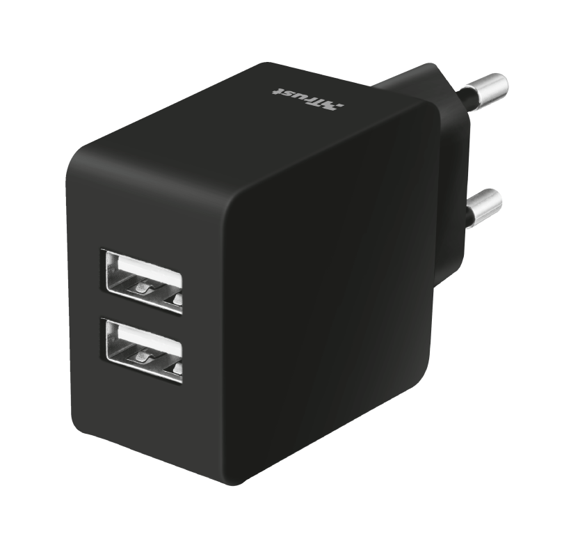 2x5W/1A Dual Wall Charger for phones-Visual