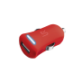 5W Car Charger - red-Visual