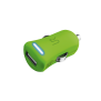 5W Car Charger - lime green-Visual